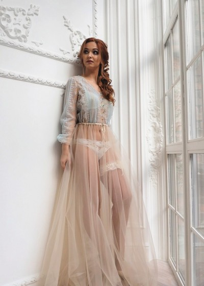 Будуарное платье «BUYERILL»