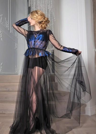Будуарное платье «БЛЕ-РАЙМОНД»