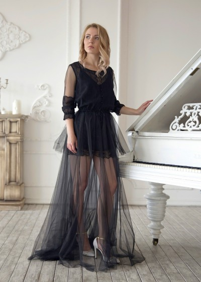 Будуарное платье «МАРГО»