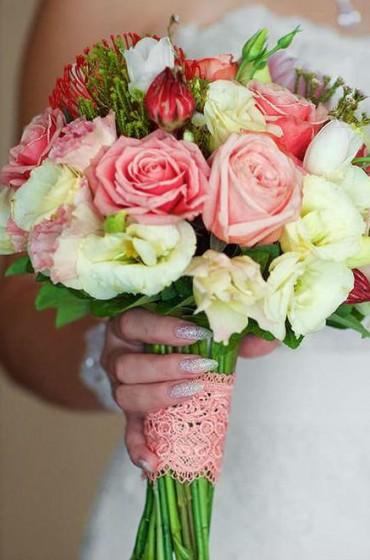 Букеты свадебные
