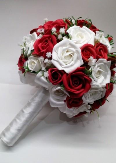 Букет свадебный розы
