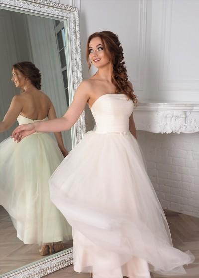Свадебное платье «АМОРЕТ »