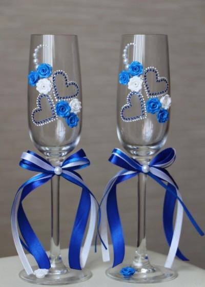 Свадебные бокалы арт. 141