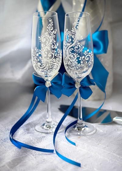 Свадебные бокалы арт. 212