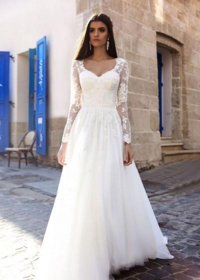 """Свадебное платье """"Ореол"""""""