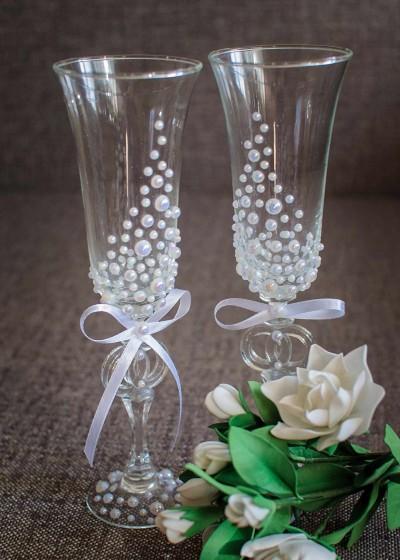Свадебные бокалы арт. 147