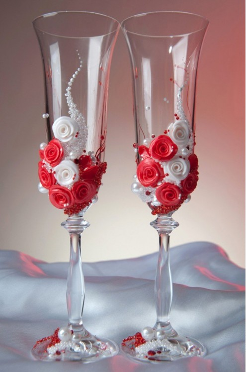 Свадебные бокалы арт. 312