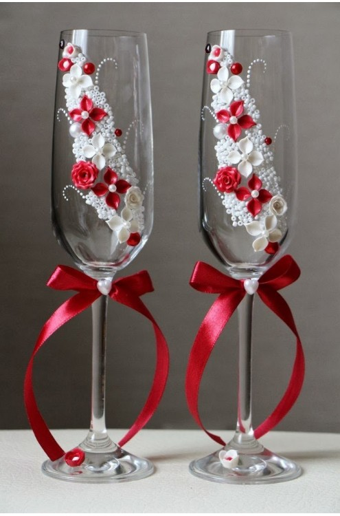Свадебные бокалы арт. 145