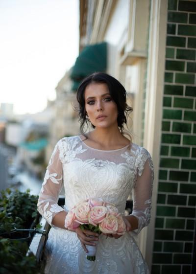 Свадебное платье белое Тани
