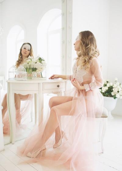 Будуарное платье «ROSA»
