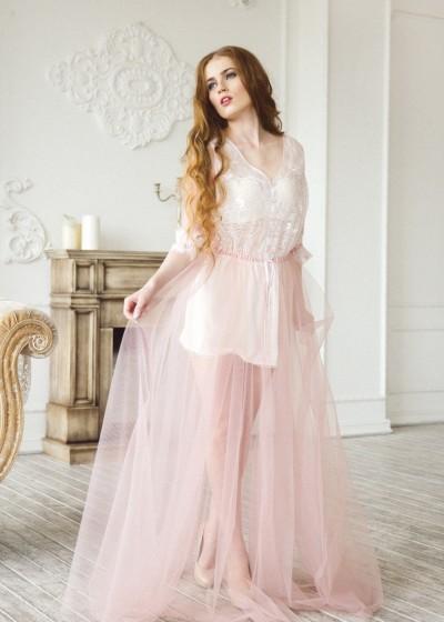 Будуарное платье «ROSSALI»