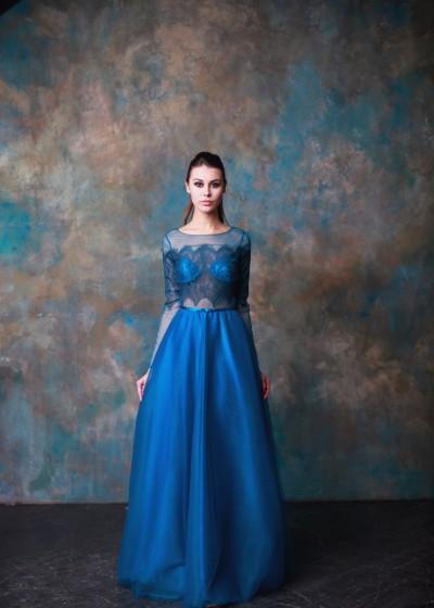 Вечернее платье «Ультрамарин»