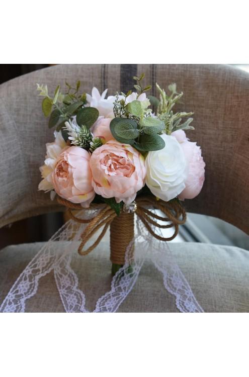 Букет свадебный Пионы