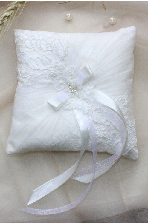 Свадебная подушечка для колец (арт IMG_8407)