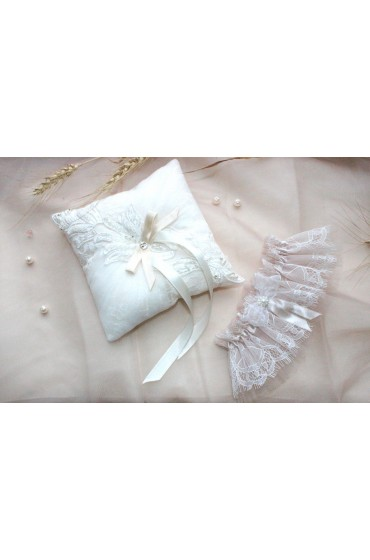 Свадебная подушечка для колец (арт IMG_8432)