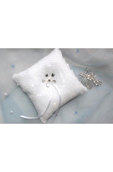 Свадебная подушечка для колец (арт IMG_8537)