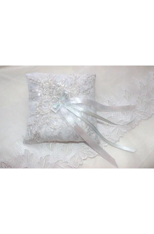 Свадебная подушечка для колец (арт IMG_8845)
