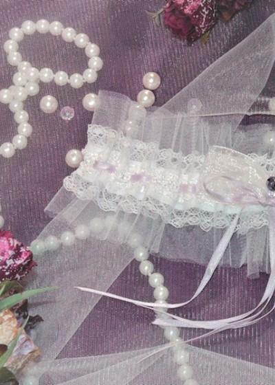 Свадебная подвязка (арт IMG_8222)