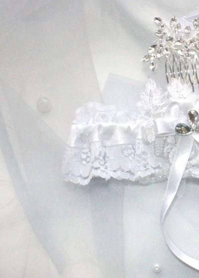 Свадебная подвязка (арт IMG_8509)