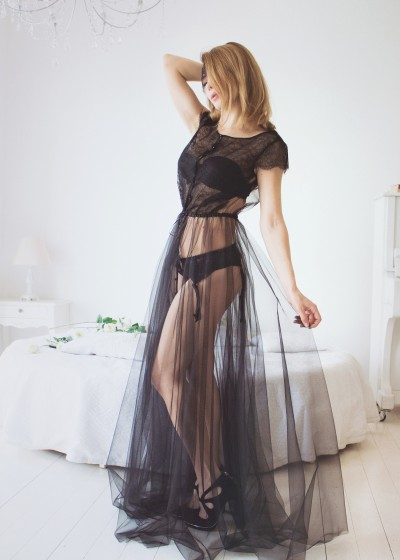 Будуарное платье «МОРИОН »