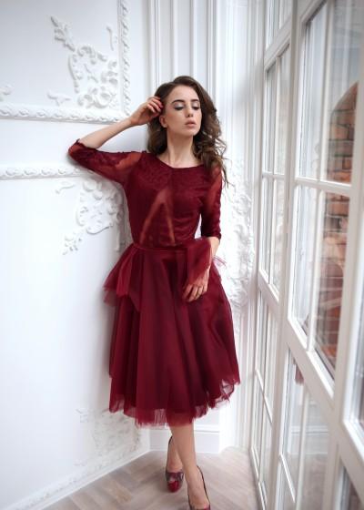 Коктейльное платье «Черри»