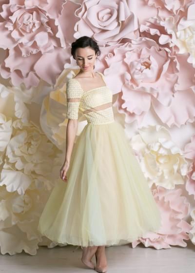 Коктейльное  платье «Полин»