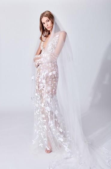 Открытые свадебные платья