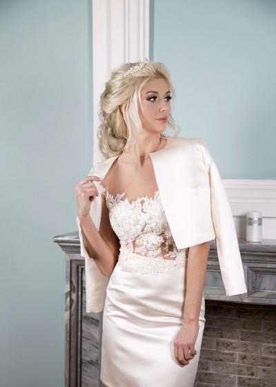 Свадебное платье «КОСТЮМ (юбка+жакет)»