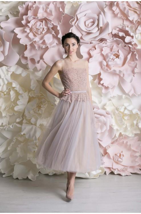 Свадебное платье «ЭСТЕЛЬ МИДИ»