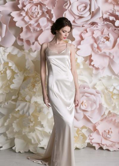 Свадебное платье «ПЛАТЬЕ-КОМБИНАЦИЯ  »