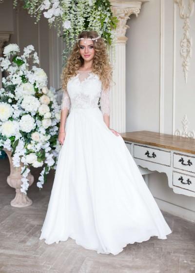 Свадебное платье «ЛУНЕТ »