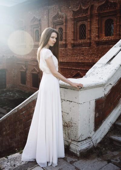 Свадебное платье «НИКОЛЕТ »