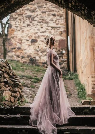 Свадебное платье «ТОПАЗ »